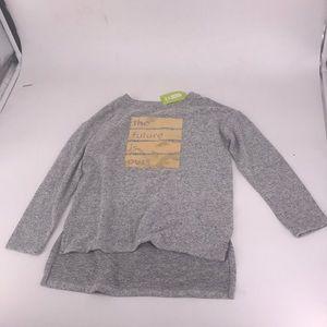 NWT Crazy 8 Girls Size 5-6 Short Sleeved Shirt